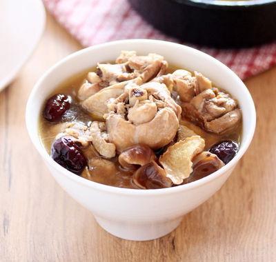 冬日必學~一雞二吃之麻油酒釀桂圓雞湯+三杯菇菇雞柳