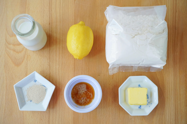 夏日的輕飲食*蜂蜜檸檬麵包杯【麥典麵包專用粉】6