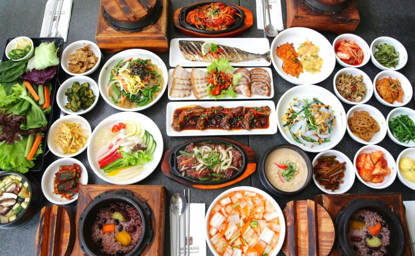 Korean side dishes 825x510