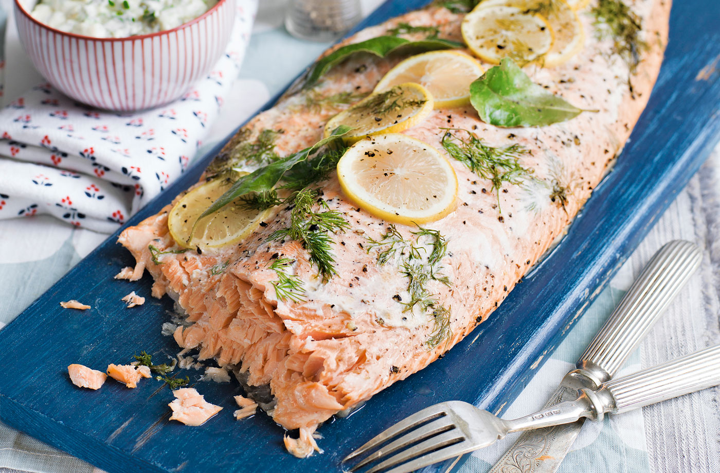 Dill lemon salmon
