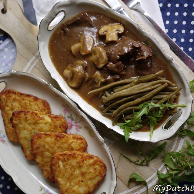 荷蘭秋冬暖胃大師~西洋菇燉牛肉