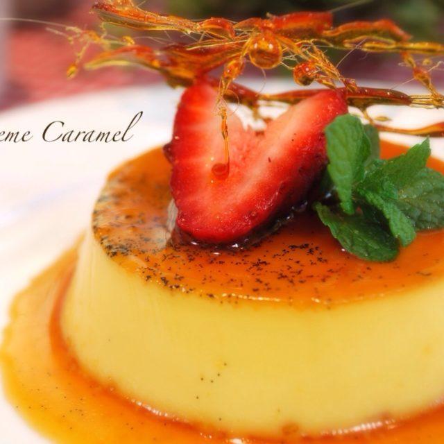 [貝兒實驗室] 百分百愛戀滋味:焦糖香草烤布丁 Crème Caramel