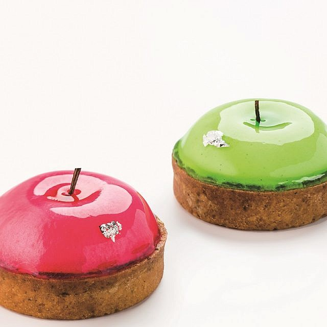 像蘋果卻又不是?法式甜點「史密斯先生」視、味覺衝擊享受