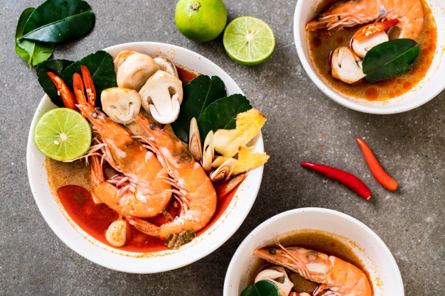 冬陰功湯(Tom Yum Kung Soup)