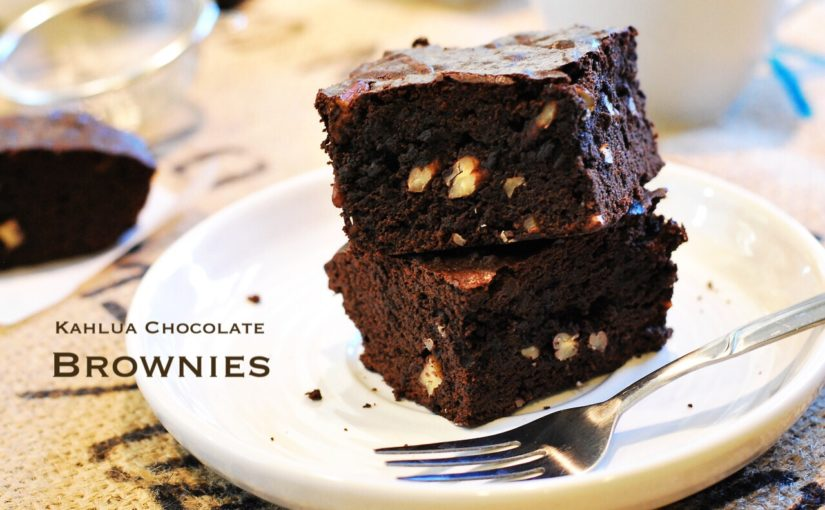 Kahlua chocolate brownies 825x510