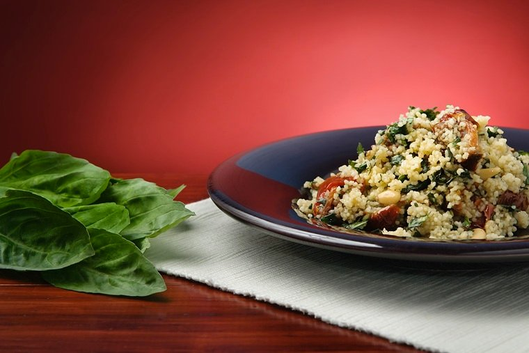 Basil And Couscous